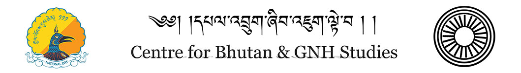 CBS & GNH. The Centre for Bhutan Studies